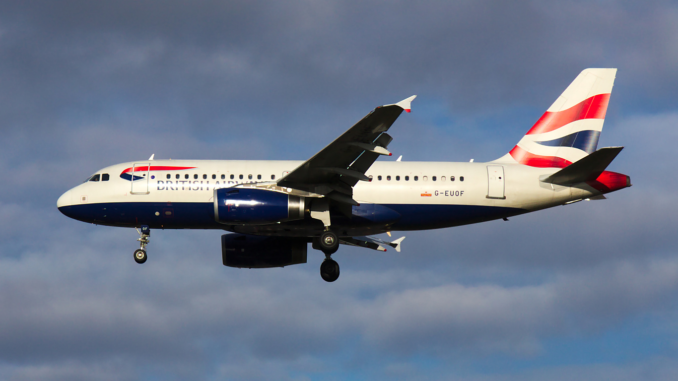 G-EUOF ✈ British Airways Airbus A319-131 @ London-Heathrow