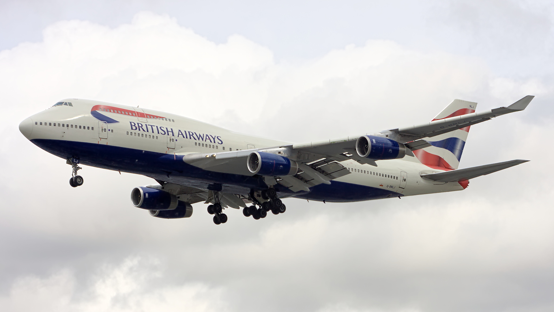 G-BNLJ ✈ British Airways Boeing 747-436 @ London-Heathrow