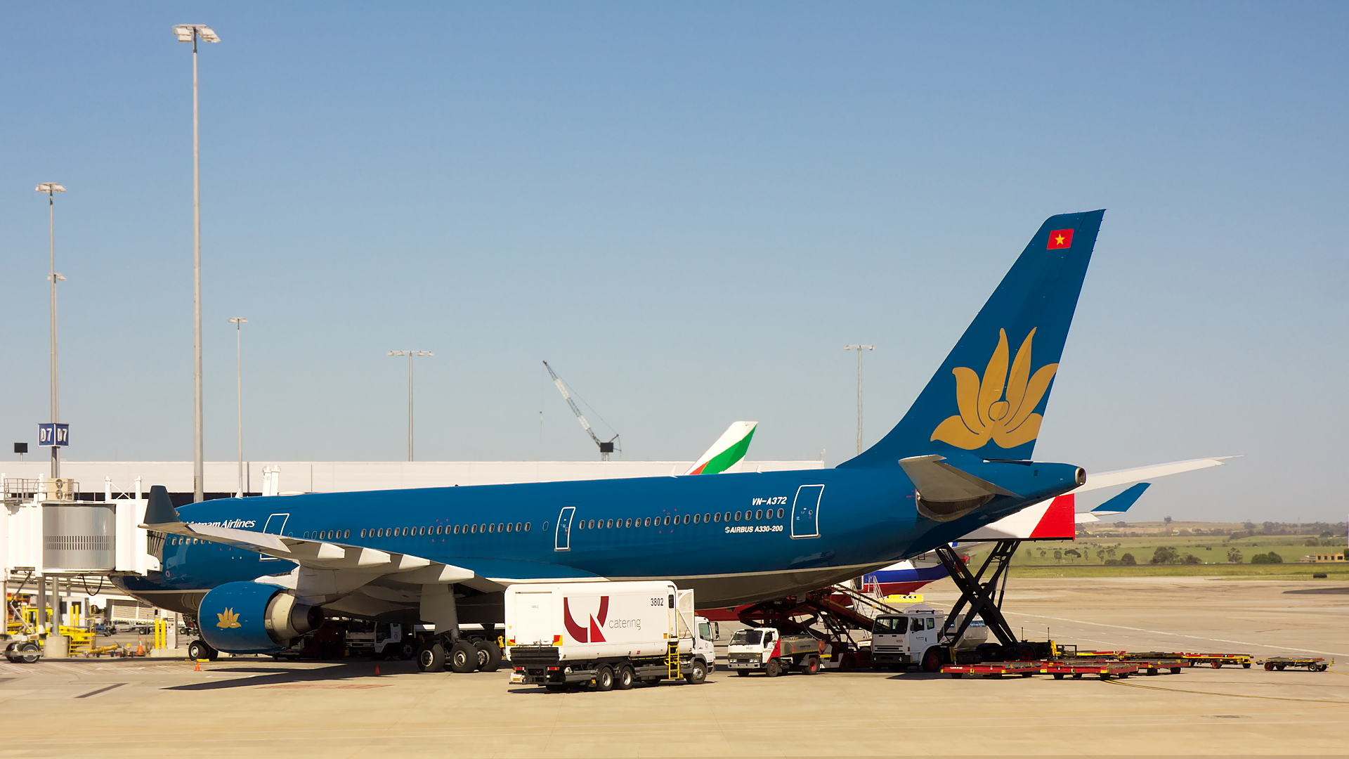 VN-A372 ✈ Vietnam Airlines Airbus A330-223 @ Melbourne-Tullamarine