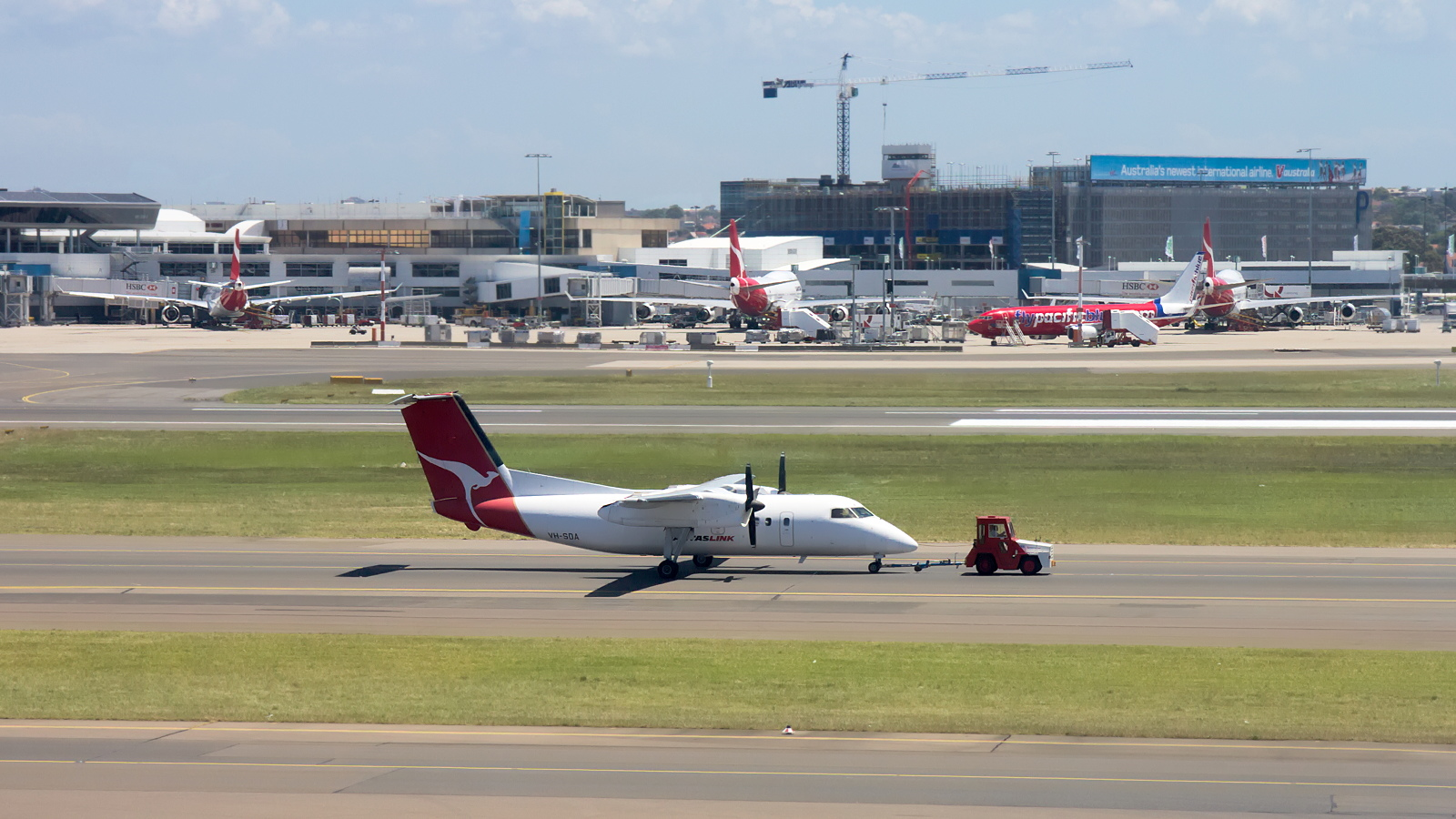 VH-SDA ✈ QantasLink De Havilland Canada DHC-8-202Q Dash 8 @ Sydney-Kingsford Smith