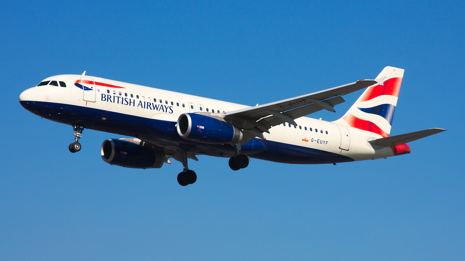 G-EUYF ✈ British Airways Airbus A320-232 @ London-Heathrow