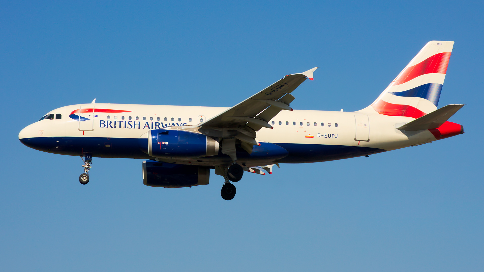 G-EUPJ ✈ British Airways Airbus A319-131 @ London-Heathrow