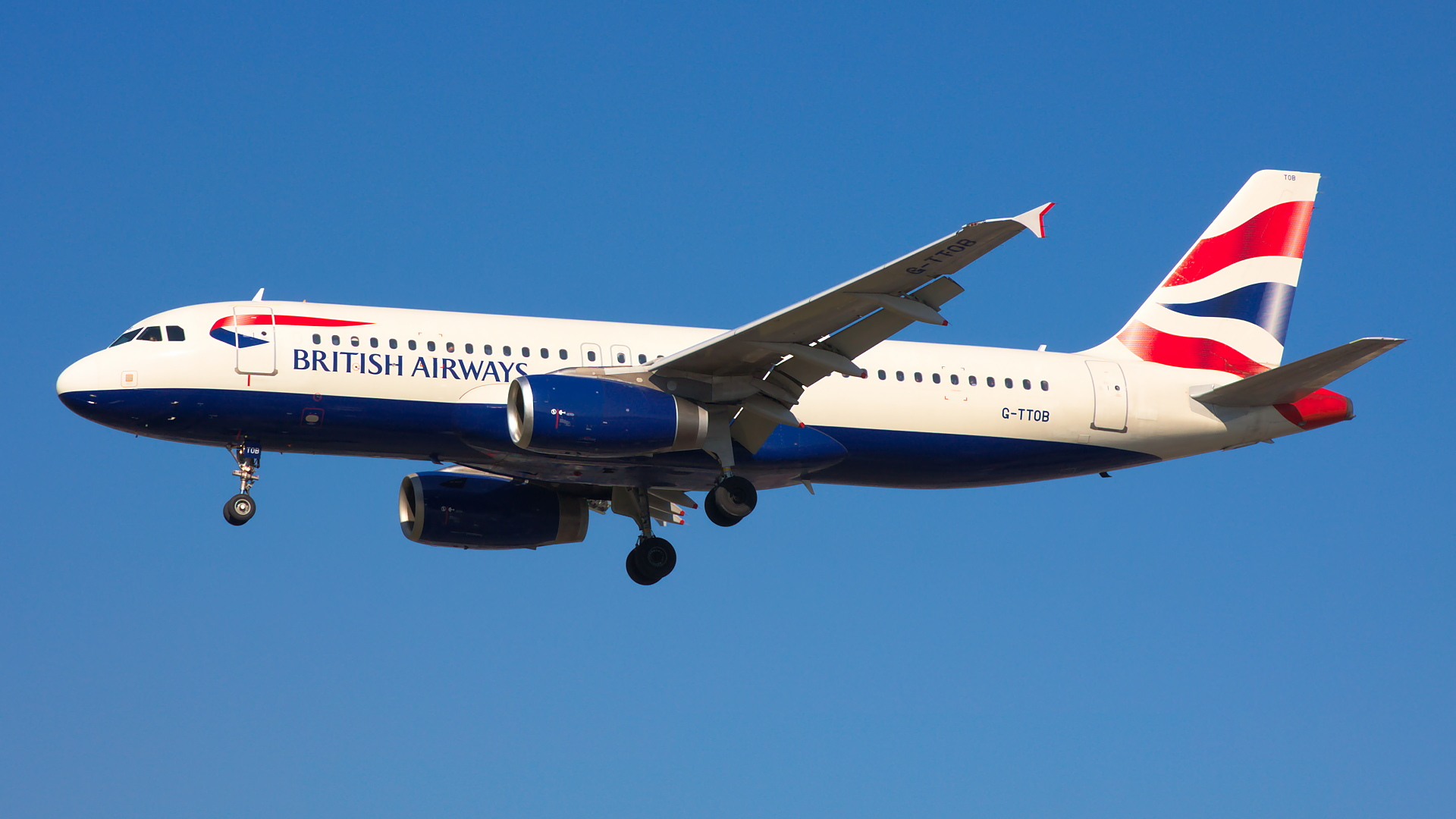 G-TTOB ✈ British Airways Airbus A320-232 @ London-Heathrow