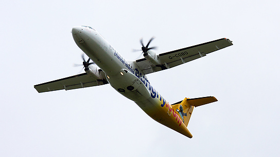 G-COBO ✈ Aurigny Air Services ATR 72-212A