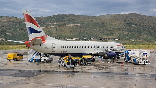 G-DOCF ✈ British Airways Boeing 737-436