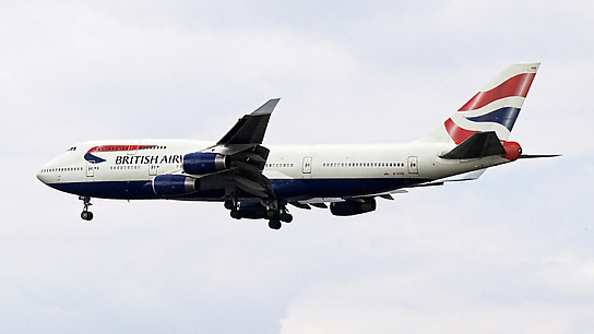 G-CIVD ✈ British Airways Boeing 747-436