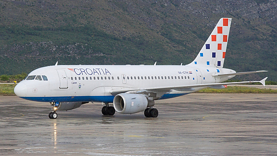 9A-CTH ✈ Croatia Airlines Airbus A319-112