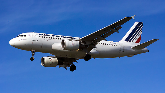 F-GRXD ✈ Air France Airbus A319-111