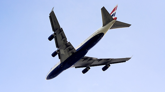 G-CIVP ✈ British Airways Boeing 747-436