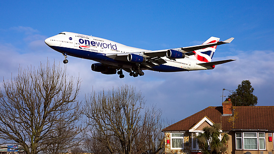 G-CIVL ✈ British Airways Boeing 747-436