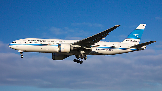 9K-AOA ✈ Kuwait Airways Boeing 777-269ER