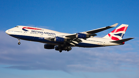 G-BNLL ✈ British Airways Boeing 747-436