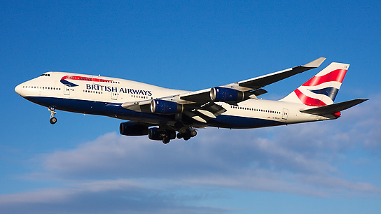 G-BNLN ✈ British Airways Boeing 747-436
