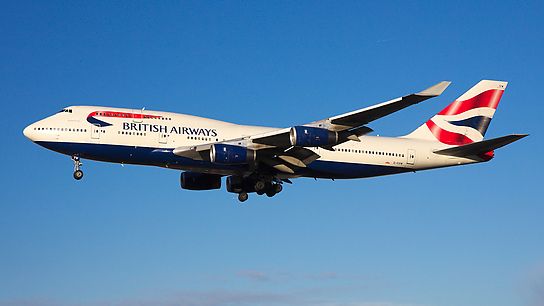 G-CIVW ✈ British Airways Boeing 747-436