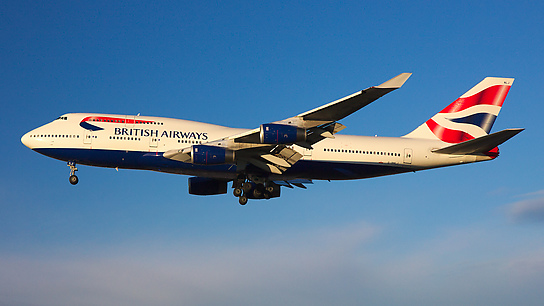 G-BNLJ ✈ British Airways Boeing 747-436