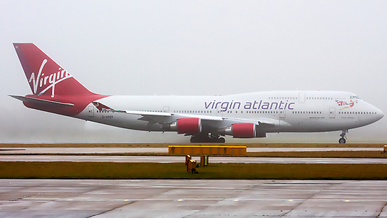 G-VROY ✈ Virgin Atlantic Airways Boeing 747-443