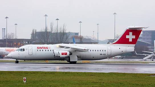 HB-IXS ✈ Swiss European Air Lines British Aerospace Avro RJ100