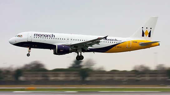 G-MPCD ✈ Monarch Airlines Airbus A320-231