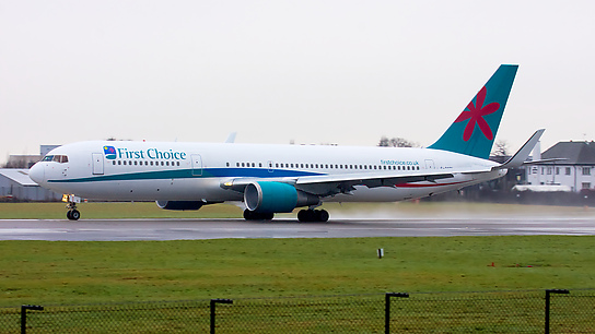 G-OOBL ✈ First Choice Airways Boeing 767-324ER