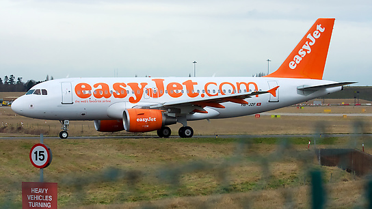HB-JZF ✈ easyJet Switzerland Airbus A319-111