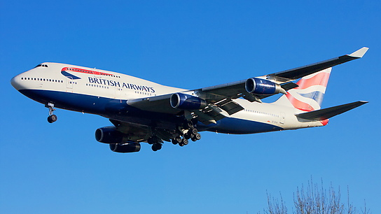 G-CIVU ✈ British Airways Boeing 747-436