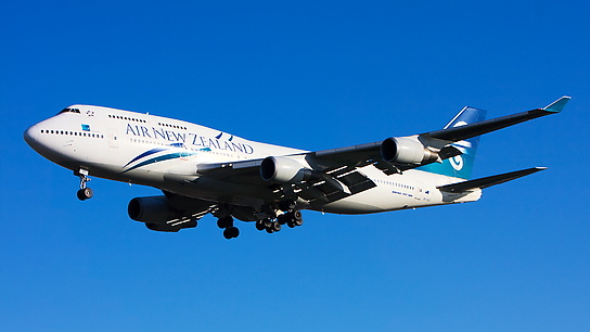 ZK-SUI ✈ Air New Zealand Boeing 747-441