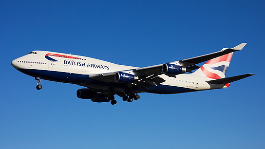 G-CIVO ✈ British Airways Boeing 747-436