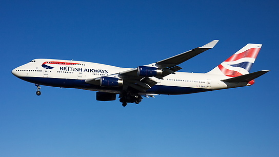 G-BNLS ✈ British Airways Boeing 747-436