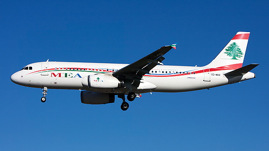 OD-MRR ✈ Middle East Airlines Airbus A320-232