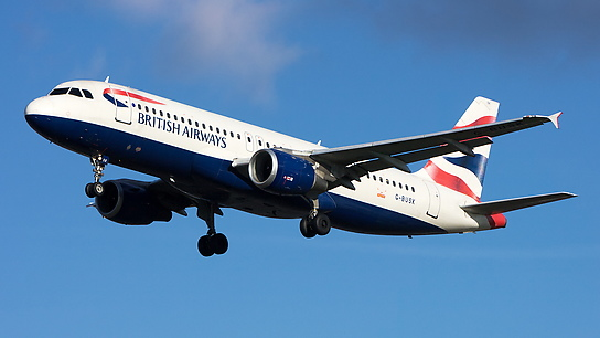 G-BUSK ✈ British Airways Airbus A320-211