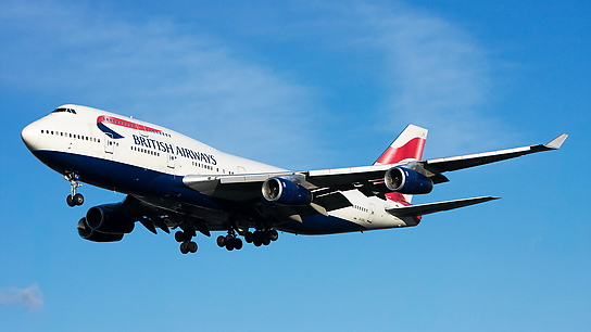 G-CIVJ ✈ British Airways Boeing 747-436