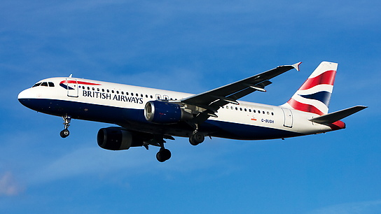 G-BUSH ✈ British Airways Airbus A320-211