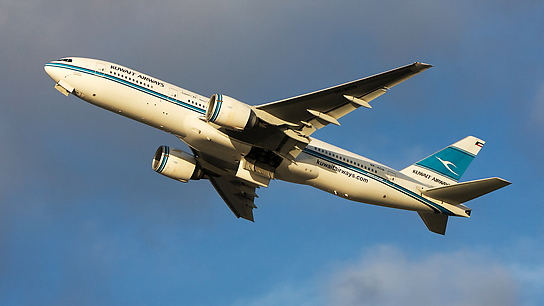 9K-AOB ✈ Kuwait Airways Boeing 777-269ER