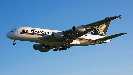 9V-SKH ✈ Singapore Airlines Airbus A380-841