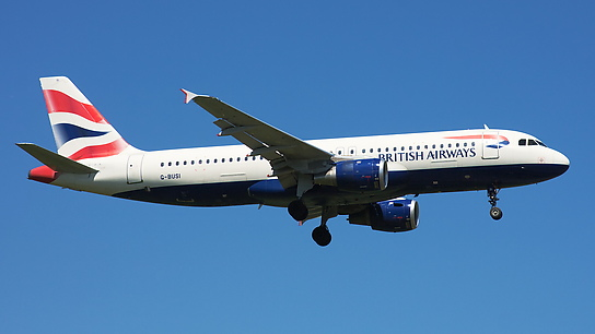 G-BUSI ✈ British Airways Airbus A320-211
