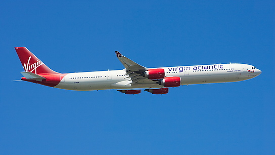G-VWEB ✈ Virgin Atlantic Airways Airbus A340-642