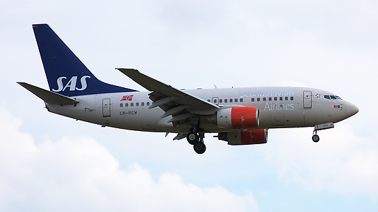 LN-RCW ✈ Scandinavian Airlines Boeing 737-683