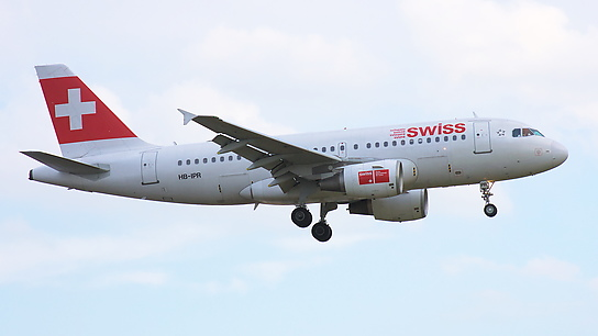 HB-IPR ✈ Swiss International Air Lines Airbus A319-112