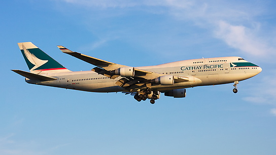 B-HKE ✈ Cathay Pacific Boeing 747-412