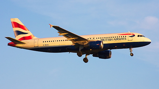 G-BUSJ ✈ British Airways Airbus A320-211