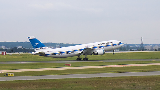 9K-AMB ✈ Kuwait Airways Airbus A300B4-605R