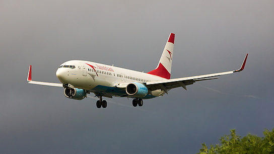 OE-LNQ ✈ Austrian Airlines Boeing 737-8Z9