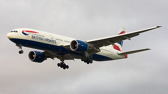 G-VIIE ✈ British Airways Boeing 777-236ER