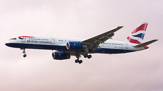 G-CPES ✈ British Airways Boeing 757-236