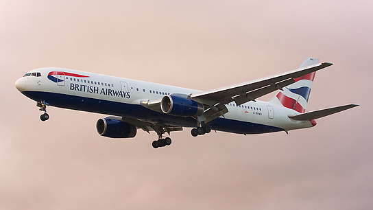 G-BNWH ✈ British Airways Boeing 767-336ER