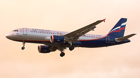 VP-BKY ✈ Aeroflot Russian Airlines Airbus A320-214