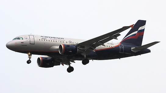 VQ-BBA ✈ Aeroflot Russian Airlines Airbus A319-111