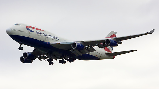 G-BNLK ✈ British Airways Boeing 747-436