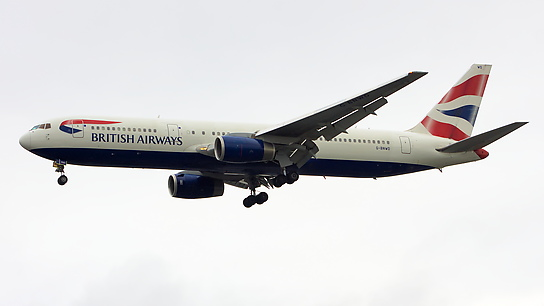 G-BNWD ✈ British Airways Boeing 767-336ER
