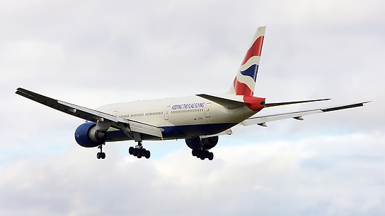 G-VIIL ✈ British Airways Boeing 777-236ER